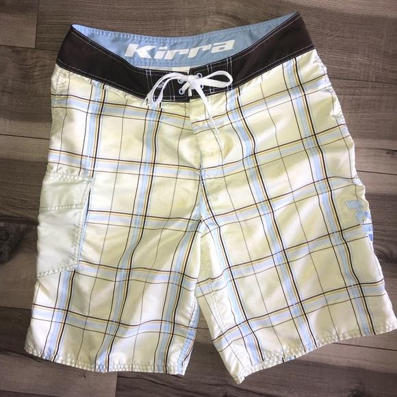 6f2667589f Kirra Swim | Pac Sun Plaid Board Shorts 34 Waist Euc | Poshmark